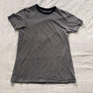 Barneys NY cotton striped t-shirt